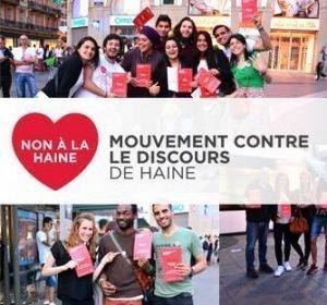 Entrée officielle de la France dans le Mouvement contre le discours de haine, par le Conseil de l'Europe – Strasbourg