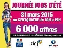 Journée jobs d'été, par le CIDJ – Paris