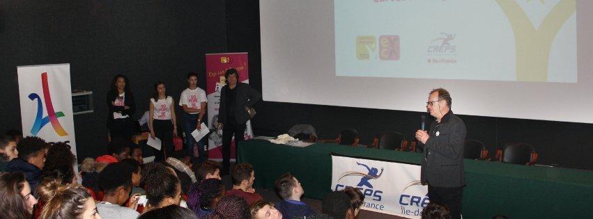 CP – Le programme de la Carte Jeunes Européenne et le CREPS d'Île-de-France signent une collaboration musclée dans l'intérêt des jeunes sportifs