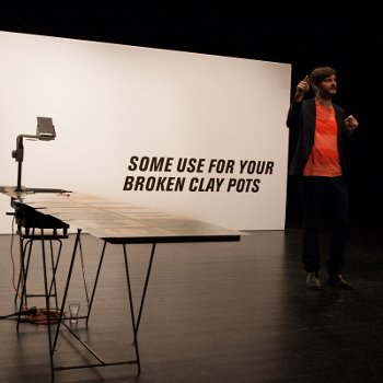 Spectacle «Some use for your broken clay pots»
