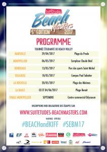 [ÉVÉNEMENT PARTENAIRE] Suitétudes Beach Masters
