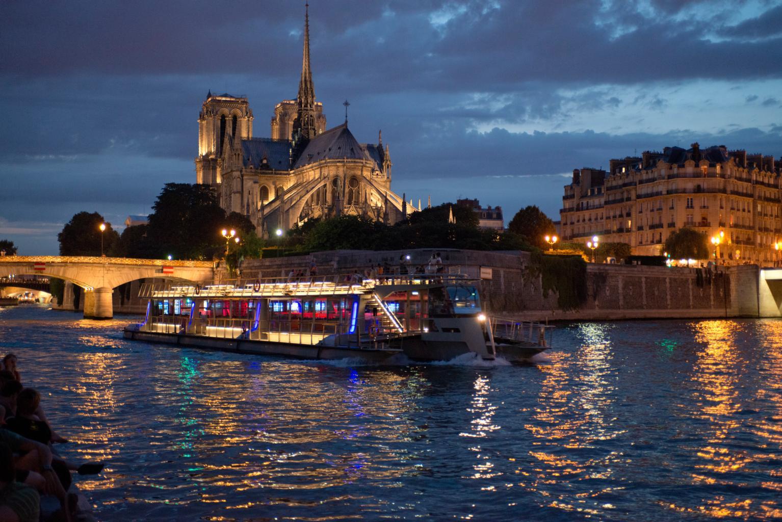 Bateaux parisiens carte jeunes europ enne - Bateaux parisiens port de la bourdonnais ...