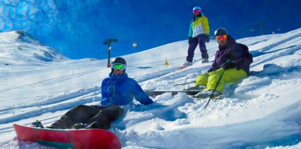 Saison de ski en Espagne !