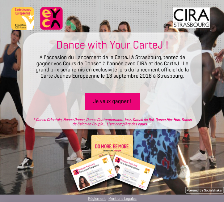 Grand Jeu #DanceWithYourCarteJ – And the winners are…