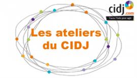 Programmation des ateliers du mois de Juin au CIDJ !